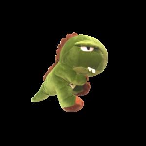 Green Dino Plushie