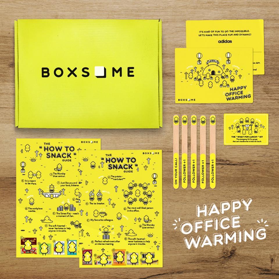 Adidas Office Warming Gift Box