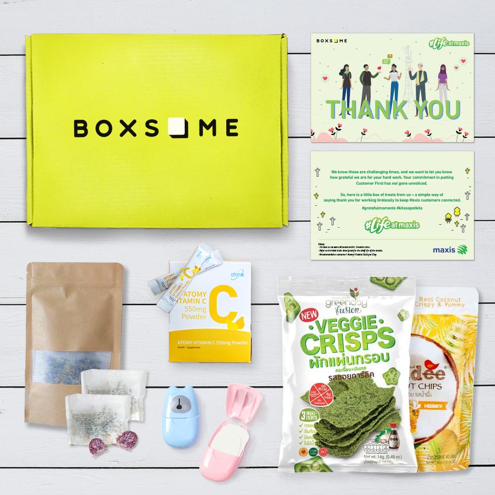 Maxis Self Care Box