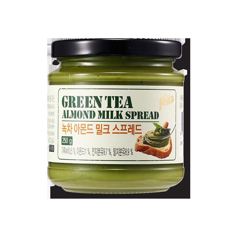 FELIZ GREEN TEA ALMOND MILK SPREAD